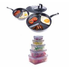 Keimavlock 10-Pc Airtight Food Storage with 3 in 1 Premier Divide Wonder Pan
