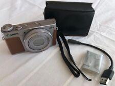 Canon PowerShot G9x Mark II - Silber