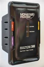 Monster Cable FlatScreen PowerCenter SuperThin 300 Surge Protector + Clean Power
