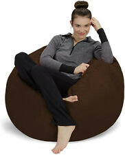 Bean Bag Chair Seat Soft Adult 4.6ft/3ft Cozy Lazy Cozy Foam Chair Big Lounger