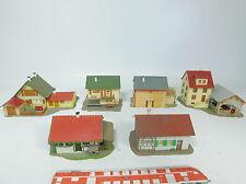 az771-1 #6X Faller H0 Model:269 Restaurant +268 autorast + Home etc.