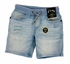 NEW Art Class Boys Light Blue Denim Jean Shorts Distressed -Select Sizes