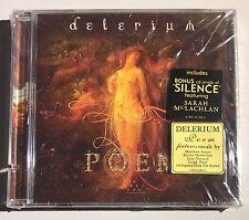 Poem [Limited Edition W/Bonus CD] Delerium (CD, Nov-2000, 2 Discs) Free Shipping