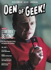 DEN OF GEEK Magazine SDCC 2016 San Diego Comic Con NEW Star Trek Beyond July
