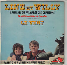 """45 T EP LINE ET WILLY """"LE VENT"""""""