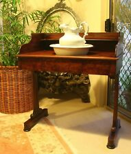 ANTIQUE VANITY UNIT WITH JUG AND WASH BOWL