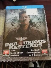 INGLOURIOUS BASTERDS STEELBOOK w/dog tag [NEW/Blu-ray] Future Shop Exclusive