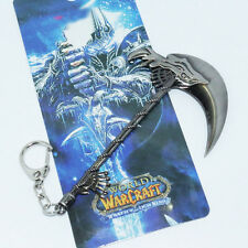 World of Warcraft WOW Frost Sickle Keychain Keyring Game Merchandise  W23