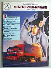 Prospekt Mercedes Das M-B Nutzfahrzeug-Magazin zur IAA 1989, 9.1989, 44 Seiten