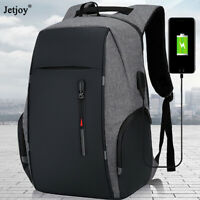 New Anti-Theft Man Men USB Charging Shoulder Backpack Laptop Travel School Bags