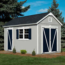Crestwood 8' x 14' Wood Storage Shed, 934 Cubic Ft. of Storage