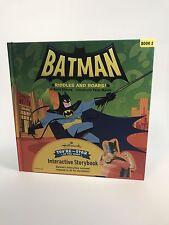 Hallmark Interactive Storybooks - Batman Riddles and Roars Book 2 Brand New Book