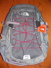 "NWT THE NORTH FACE  Borealis Backpack Daypack  ZINC GRAY HEATHER 15"" LAPTOP BAG"