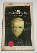 The Invisible Man - by H.G. Wells - 1968 - Science Fiction