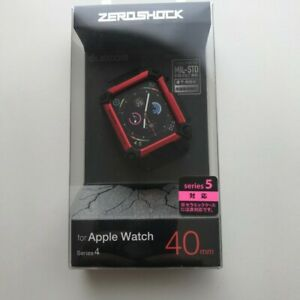 NEW ZEROSHOCK case red for Apple Watch 40mm