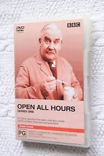 Open All Hours: Series One (DVD), R-4, Like new (Disc: New) Free post Aus-wide
