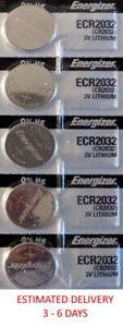 5 Pk Remote Key Fob & Smart Keyfob Energizer Battery CR2032 Fits CHEVROLET