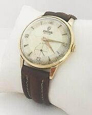 SIGMA DE LUXE orologio  in oro da uomo meccanico manuale fine anni 60