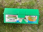 Vintage Teenage Mutant Ninja Turtles TMNT Fishin Kit Tackle Box Rare with tray