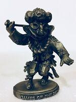 Games Of The 24Th Olympiad Seoul Korea 1988 Daewang Pewter Warrior Figurine LTD
