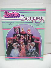 Barbie Doll Exclusives Identification Guide Book Porcelain Disney Mattel Rana