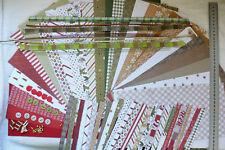 Yuletide Kit 12x6 21SSDsgns, 6PlnCStck, Strips, 30Brads, 15Buttons Rbns PPaislee