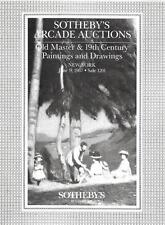 Sotheby's Arcade Old Master & 19th C. Paintings & Drawings Auction Catalog 1987