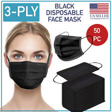 Disposable 3-Ply Face Mask 50 PCS Medical Surgical Ear-Loop Mouth Cover