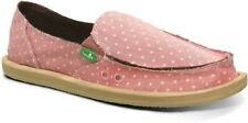 SANUK WOMEN'S  DOTTY SHOE SANDALS PINK SIZE 11 NWT $55 LIST