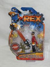 Cartoon Network Generator Rex Big Fat Sword Action Figure & Scorthius Evo. New