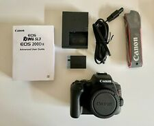 Canon EOS Rebel SL3 DSLR Camera (Black, Body Only)