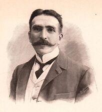 Portrait Henry Mayer Comédie Française Acteur Comédien