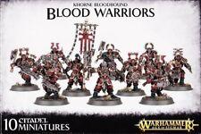 Khorne Bloodbound Blood GUERRIERI Games OFFICINA WARHAMMER AGE OF SIGMAR