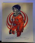 Tyler Stout RARE Astronaut Handbill  4x5