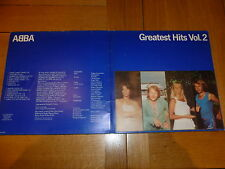 ABBA - Greatest Hits Vol. 2 - Original 1979 Dutch Epic LP