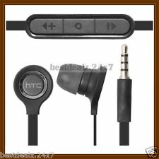 Black OEM RC-E190 3.5mm Remote Stereo Handsfree for HTC Desire P Desire Q