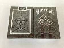 1 deck of Ritual PREMIER SILVER Playing Cards printed by USPCC-S1032279998017-A後