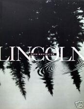 2000 Lincoln Navigator SUV new vehicle brochure