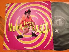 "MONIE LOVE - Born 2 B.R.E.E.D. - Orig.1993 UK 12"" RnB/Rap 6 mixes - VG Vinyl"