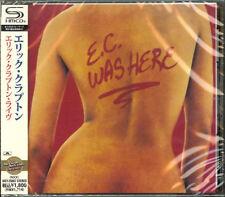 ERIC CLAPTON-E.C. WAS HERE-JAPAN SHM-CD D50