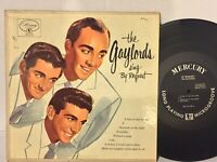 "Gaylords Sing By Request EX MERCURY 25198 10"" doo wop pop"