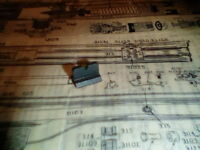 #327 Rear sight for Benjamin Air Rifle 310 312 317 Factory new original