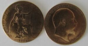 1911-1936 | George V Half Penny | Choose Your Year | Free Postage + Discounts