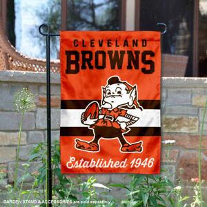 Cleveland Browns Throwback Retro Vintage Official Garden Yard Banner Flag