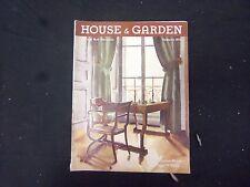 1935 FEBRUARY HOUSE & GARDEN MAGAZINE - FURNITURE NUMBER - ST 2396