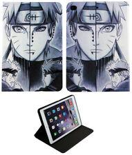 For Apple iPad Mini 1 2 3 4 Naruto Kakashi Hatake Anime Folio Stand Case Cover