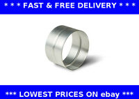 Female coupling galvanised steel ventilation ducting pipe fitting connector