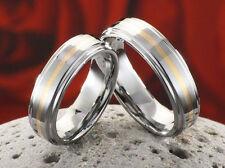 Modeschmuck-Ringe im Band-Stil aus Wolfram