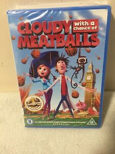 Cloudy With A Chance Of Meatballs (DVD, 2009) New + Sealed