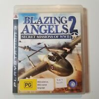 Blazing Angels 2: Secret Missions of WWII | Sony Playstation 3/PS3 | + Manual